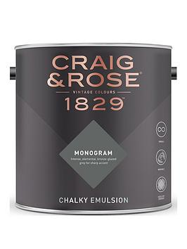 Craig & Rose Craig & Rose 1829 Monogram - Chalky Emulsion 2.5L Picture