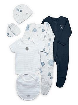 Mamas & Papas   Baby Boys 6 Piece Layette - Blue