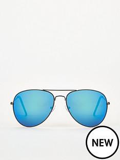 v-by-very-blue-mirror-lens-aviator-sunglasses-blue
