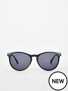 v-by-very-black-round-wayfarer-sunglasses