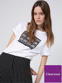 hugo-box-print-t-shirt-white
