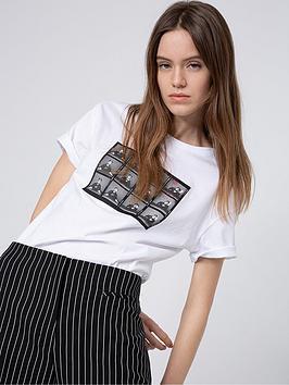 HUGO Hugo Box Print T-Shirt - White Picture