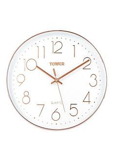 tower-quartz-wall-clock