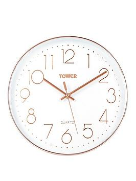Tower Tower Quartz Wall Clock Picture