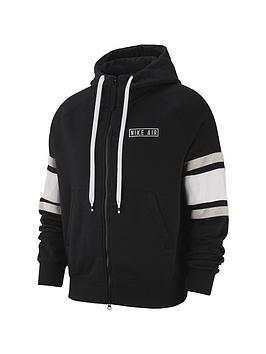Nike Nike Sportswear Hoodie Full Zip Fleece - Black Picture