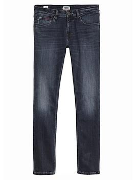 Tommy Jeans Slim Fit Scanton Jeans - William Blue
