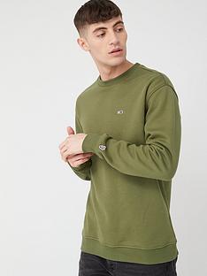 tommy-jeans-classics-crew-sweatshirt-uniform-olive