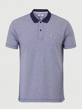 Tommy Jeans Tommy Jeans Tommy Jeans Textured Polo Shirt Picture