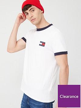 tommy-jeans-branded-ringer-short-sleeve-t-shirt-white