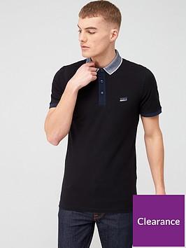 jack-jones-core-charming-polo-shirt-black