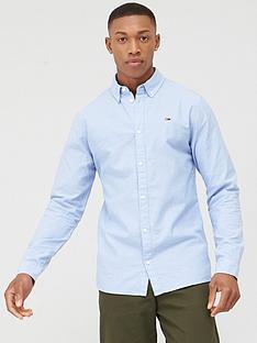 tommy-jeans-stretch-long-sleeve-oxford-shirt-light-blue