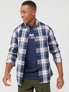 tommy-jeans-essential-check-long-sleeve-shirt-twilight-navy