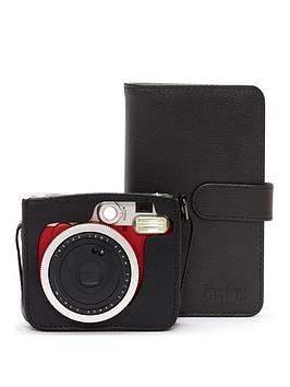 Fujifilm Instax Fujifilm Instax Fujifilm Instax Mini 90 Red Instant Camera  ... Picture