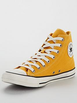 Converse Converse Chuck Taylor All Star Hi Top - Yellow Picture