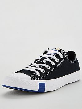 Converse Converse Chuck Taylor All Star Ox - Black/Blue/Red Picture
