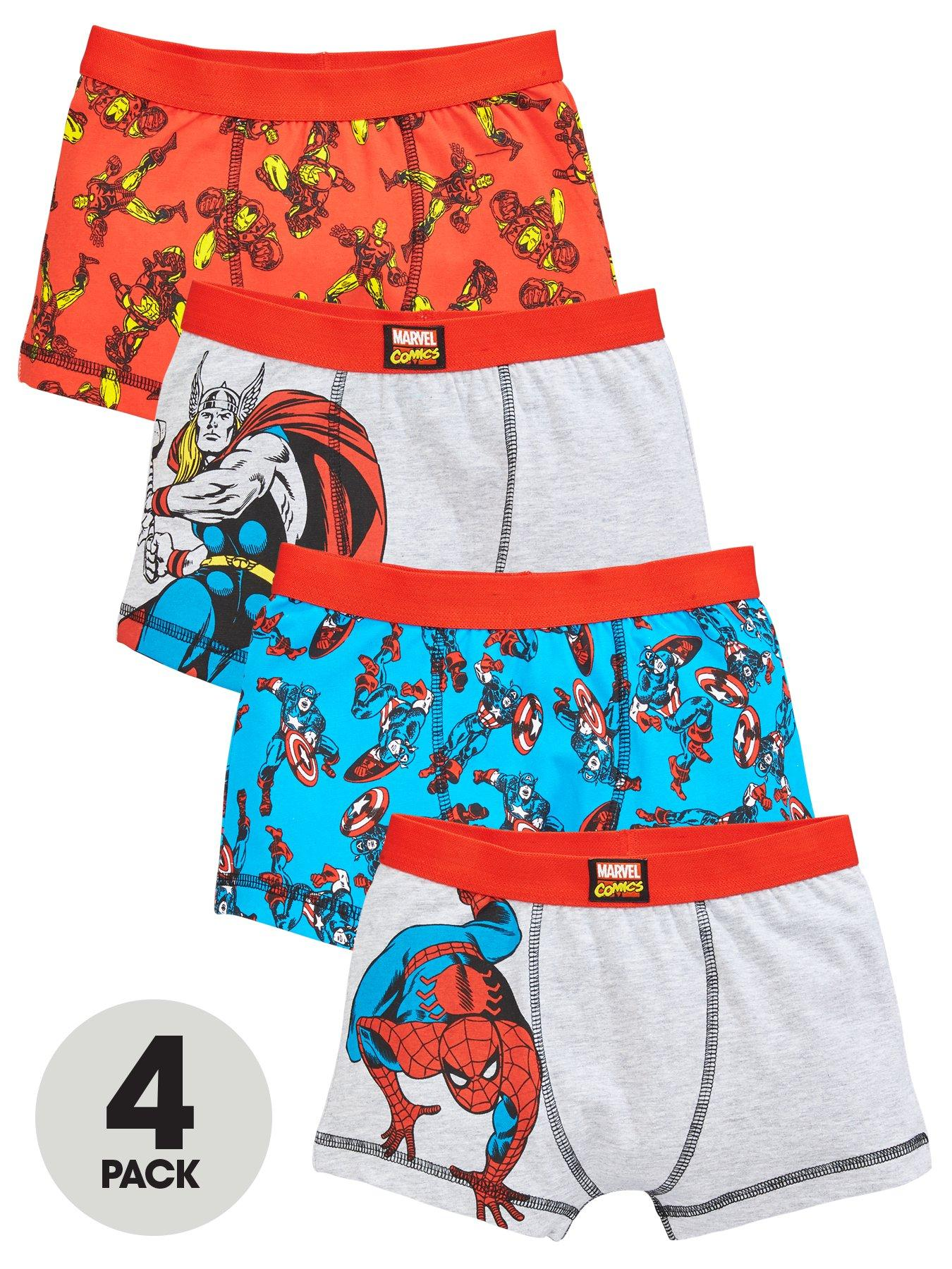 Cool Bananas Geo Blue Bonds 3 Pack Boxer Shorts 3-4 Years