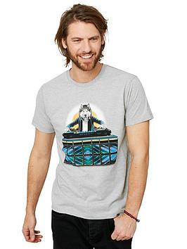 Joe Browns Joe Browns Dj Wolf T-Shirt - Grey Marl Picture