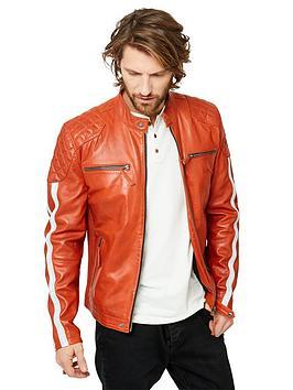Joe Browns Joe Browns Road Holder Leather Jacket Picture