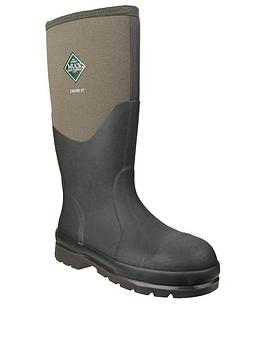 Muck Boots Muck Boots Chore Classic Steel Welly - Moss Picture