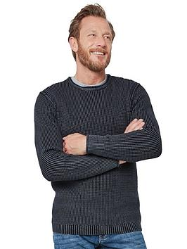 Joe Browns Joe Browns Washed To Perfection Knitted Jumper - Black Picture