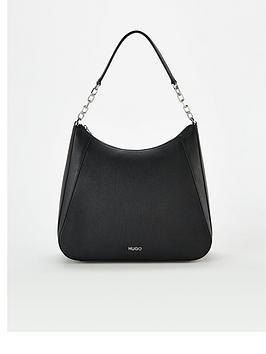 HUGO Hugo Victoria Hobo Shopper Bag - Black Picture