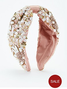 v-by-very-embelished-satin-hairband-pink