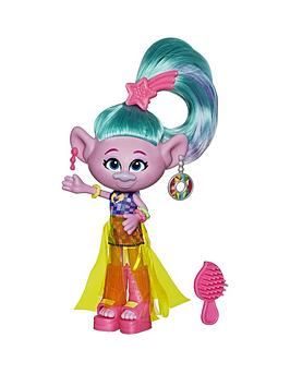 dreamworks trolls Dreamworks Trolls Glam Satin Fashion Doll Picture