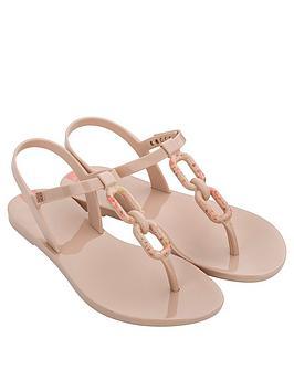 Zaxy Zaxy Infinity Links Flat Sandals - Blush Picture