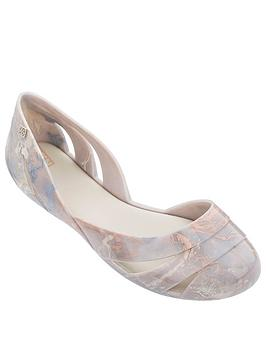 Zaxy Zaxy Liquid Shell Marble Cut Out Ballerina - Ivory Picture