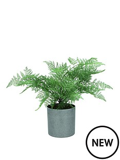 gisela-graham-artificial-ming-fern-potted-plant