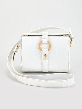 V by Very V By Very Paris Crossbody Bag - White Picture