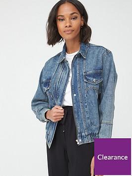 v-by-very-elasticated-hem-denim-jacket-vintage-wash