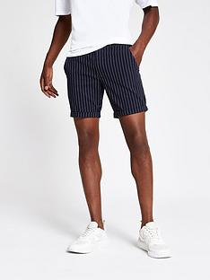 river-island-santo-stripe-shorts