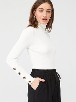 v-by-very-roll-neck-rib-jumper-white