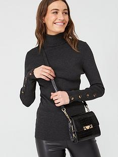 v-by-very-roll-neck-rib-jumper-charcoal