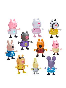 Peppa Pig Peppa Pig Dress Up Figurines - 10 Pack Picture