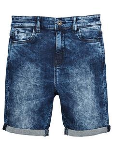 v-by-very-boys-acid-wash-skinny-fit-denim-shorts-blue