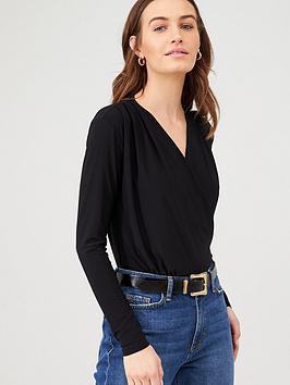 v-by-very-wrap-bodysuit-black