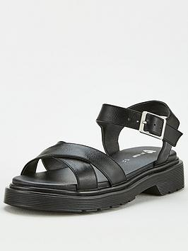 V by Very V By Very Girls Chunky Sandals - Black Picture