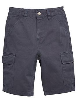 V by Very V By Very Boys Cargo Shorts - Navy Picture