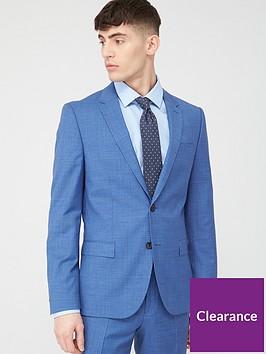 hugo-harvey-check-slim-suit-jacket-light-blue