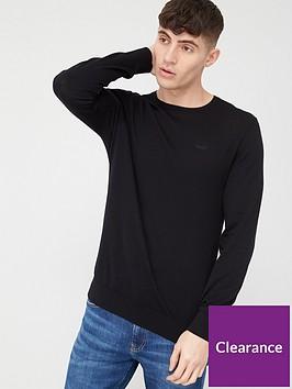hugo-san-lorenzon-knitted-jumper-black