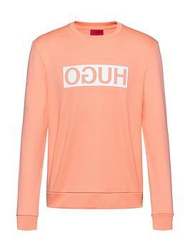HUGO Hugo Reverse Logo Sweatshirt - Peach Picture