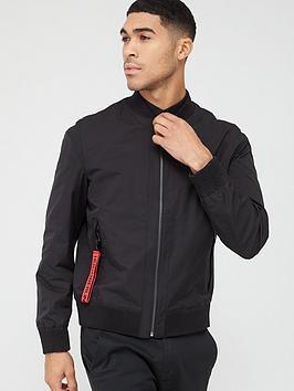 hugo-bado-bomber-jacket-black