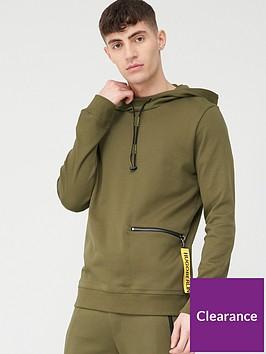hugo-deauty-overhead-hoodie-khaki