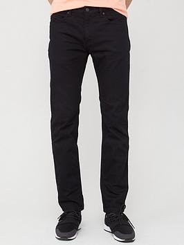 HUGO Hugo 708 Slim Fit Jeans - Black Picture