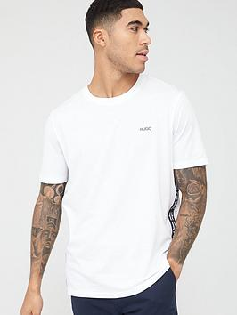 HUGO Hugo Deres T-Shirt - White/Navy Picture