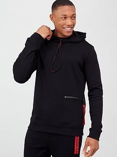 hugo-deauty-overhead-hoodie-black