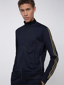 HUGO Hugo Damazing Tracksuit Top With Taping - Navy Picture
