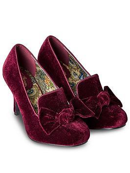 joe-browns-so-remarkable-velvet-bow-shoes